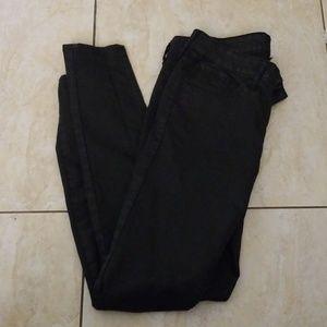 Gap Black Skinny Leg Jean's (8)(29)